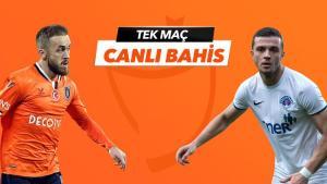 Başakşehir – Kasımpaşa maçı Tek Maç ve Canlı Bahis seçenekleriyle Misli.com'da