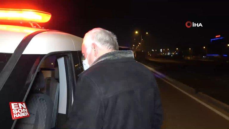 Bursa'da kısıtlamayı ihlal eden alkollü sürücünün ehliyetine el konuldu