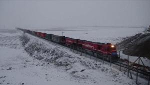 Çin ihracat treni, kesintisiz yolculuğunu tamamladı