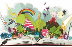 Çocuklar kitaplarla büyüsün