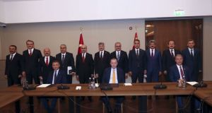 Cumhurbaşkanı Erdoğan, Bitlis'te bölge valileriyle toplantı yaptı