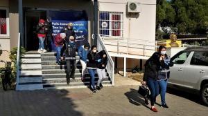 Denizli'de fuhuş olayına karışan 4 kişiye ceza kesildi