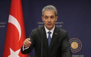 Dışişleri Sözcüsü Aksoy'dan 'Yunan Savunma Bakanı'nı taşıyan helikopterin taciz edildiği' iddiasına tepki