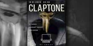 DJ CLAPTONE İLK UNDERSQUARE ETKİNLİĞİ İÇİN İSTANBUL'A GELİYOR!