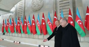Erdoğan ve Aliyev'den Ermenistan'a mesaj