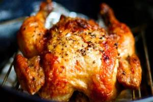 Fırında Bütün Tavuk Poşette Tarifi