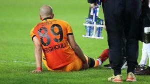 Galatasaray çalışmalarına orta vermedi! Feghouli'nin son durumu…