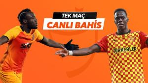 Galatasaray – Göztepe maçı Tek Maç ve Canlı Bahis seçenekleriyle Misli.com'da