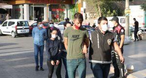 Gasptan tutuklanan zanlıdan gazetecilere: Boydan çek yakışıklı olsun, bizimkisi bir aşk hikayesi