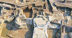Haydarpaşa Garı kazılarında gizemli mermer yapı bulundu