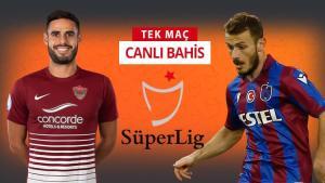 İç alanda mağlubiyetsiz Hatayspor, Avcı ile çıkışa geçen Trabzonspor'a karşı! iddaa'nın favorisi…