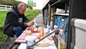 İngiltere'de Türk şoförlerin kahvaltısı gündem oldu