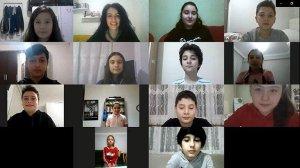 Karabüklü öğrencilerden Bakan Koca ve sağlık çalışanlarına teşekkür videosu
