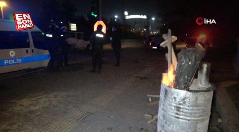 Karabük'te mahalle muhtarı polislere sıcak çorba ikram etti