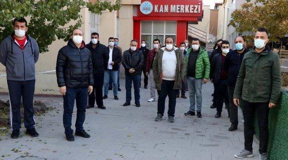 Kayseri'de apartman sakinlerinden hayat kurtaran bağış