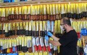 Kurban Bayramı öncesi koronavirüse karşı üretilen özel bıçaklara yoğun ilgi
