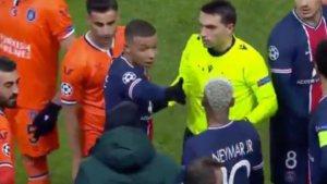 Mbappe: Irkçılık yapan hakem de oyundan atılsın