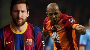 """Melo'dan itiraf! """"Messi'ye tekme attığınızda…"""""""