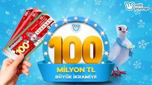 Milli Piyango Yılbaşı çekilişinde büyük ikramiye 100 milyon TL! Biletler online platformda