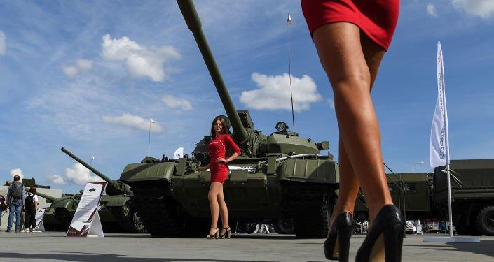 Moskova bölgesinde ARMY-2020 Uluslararası Askeri Teknik Forumu kapılarını ziyaretçilere açtı