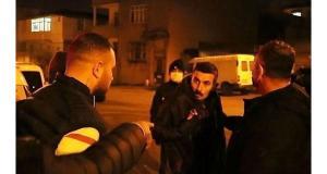 Polis aracına çarpan şahısların 'şoför benim' tartışması: Araçtaki herkes gözaltına alındı