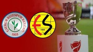 Rizespor-Eskişehirspor (CANLI)
