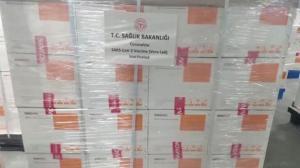 Son dakika… Türkiye'ye gönderilecek Çin aşıları görüntülendi