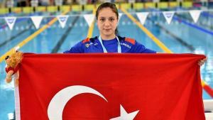 Son Dakika | Ulusal yüzücü Merve Tuncel'den dünya rekoru!