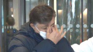 Taburcu olan Yılmaz Vural hastane çıkışında gözyaşlarını tutamadı