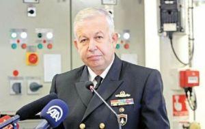 Tümamiral Cihat Yaycı'nın istifa dilekçesi ortaya çıktı