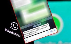 WhatsApp hesabınız tehlikede! Sakın bu iletisi vermeyin