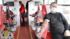Yozgat'ta Türk Kızılay'ının kan bağışı kampanyaları devam ediyor