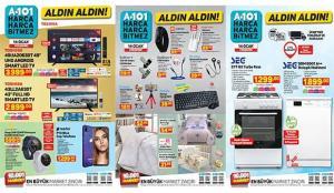 14 Ocak A101 Aktüel Ürünler Kataloğu! Akıllı saat, züccaciye, tekstil, cep telefonu, gıda..