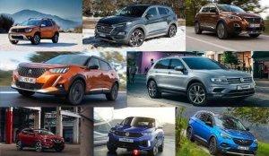 2020 yılında en çok satılan SUV araç modelleri: Dacia Opel Peugeot Volkswagen kaç adet sattı