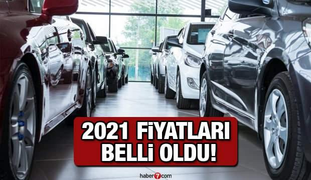 2021 araç fiyat listesi açıklandı! Türkiye'nin en ucuz sıfır araçları Kia Renault Hyundai Fiat