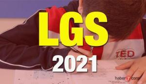 2021 LGS sınavı ne zaman?  MEB Liseye Geçiş Sınavında öğrencilerin sorumlu olduğu konular…