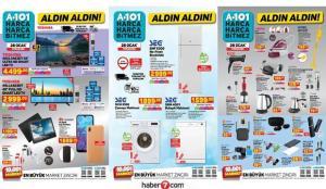 28 Ocak A101 aktüel katalog ürünleri! Elektronik, mobilya, beyaz eşya, züccaciye ve gıda…