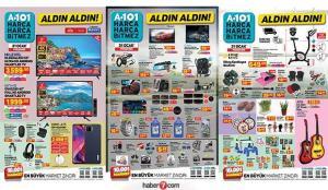 A101 21 Ocak aktüel kataloğu! Züccaciye, elektronik, elektrikli ürünler, oto aksesuar, tekstil