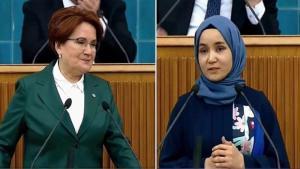 Akşener, Doğu Türkistanlı Kadını Kürsüye Çağırdı; TBMM TV Yayından Çıktı…