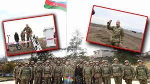 Aliyev Füzuli-Şuşa karayolunun temelini attı