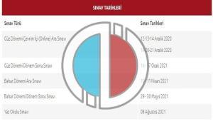 AÖF güz dönemi final sınavı online mı olacak? Anadolu Üniversitesi 2020-2021 sınav takvimi!