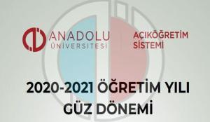 AÖF güz dönemi sınav tarihleri: Anadolu Üniversitesi İktisat ve İşletme final sınavı online…
