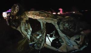 Beton mikseri ile otomobil çarpıştı: 4 ölü