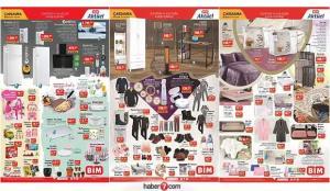 BİM 20 Ocak aktüel kataloğu! Kışa özel giyim, elektrikli, elektronik ve züccaciye ürünlerinde..