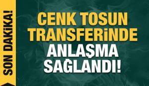 Cenk Tosun, Beşiktaş'a geri döndü!