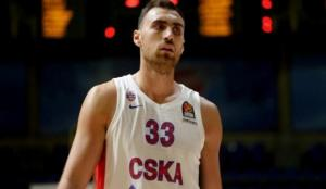 CSKA Moskova'da Milutinov sezonu kapattı