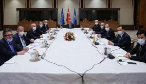 Cumhurbaşkanı Yardımcısı Oktay, ATO heyetini kabul etti