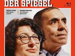 Der Spiegel, Yılın İlk Sayısının Kapağında Uğur Şahin ve Özlem Türeci'ye Yer Verdi