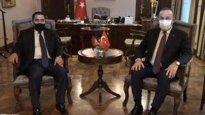 Dışişleri Bakanı Çavuşoğlu, Afganistan Ulaştırma Bakanı Zeki ile görüştü