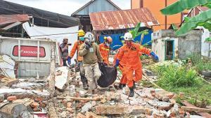 Endonezya'da deprem! 42 meyyit
